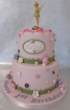 Tinkerbell+-+Cake+by+Deborah