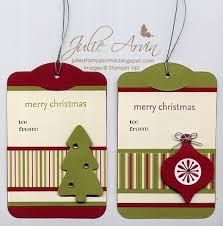 Image result for christmas tags stampin up