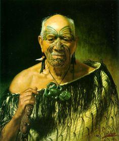 Charles Frederick Goldie and his Maori Portraits Nz Art, Art For Art Sake, Abstract Sculpture, Sculpture Art, Metal Sculptures, Bronze Sculpture, Alter Krieger, Ta Moko Tattoo, Maori Tattoos
