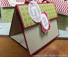 Tinker With Ink & Paper: Gift Bag from a Lunch Sack