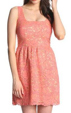 Tropical Garden Lace Dress
