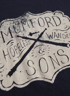 Mumford & Sons. One of my all time favorite bands..