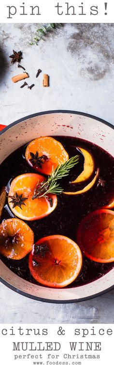 The best Mulled Wine recipe