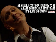The Blacklist quotes by Raymond Reddington. I'm not a gumball machine, Lizzy. You don't get to just twist the handle whenever you want a treat. Blacklist Tv Show, The Blacklist Quotes, James Spader Blacklist, Tv Show Quotes, Movie Quotes, Funny Quotes, Life Quotes, Qoutes, Sarcastic Quotes