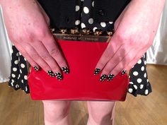 """""""Check out the awesome nails at Kate Spade's Fall 2012 presentation! I'm obsessed :)"""" - Senior Market Editor Marissa Rubin http://bit.ly/xN13Ig"""