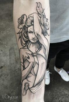 #tatoolover #blackandwhite