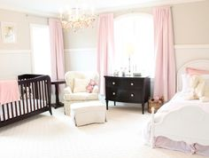 Pretty Pink Baby Girl Nursery
