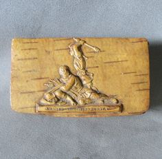 Antique Masonic, Swiss Snuff Box, Arnold von Winkelried