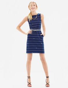 Belted Nautical Dress | Women's Dresses | THE LIMITED $99.98
