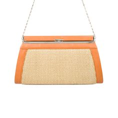 I love the MMS Design Studio Straw Angular Clutch from LittleBlackBag