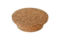 Weck Cork Lid (Small) Fits models 080, 755, 760, 762, 902, 763, 764, 766, 905, 975, 995 (2.75