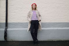 MY RED BERET Hanna Stefansson, Beret, Normcore, Outfits, Style, Fashion, Swag, Moda, Berets