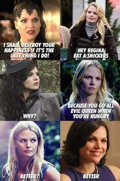 "Hah! Love this show! When Emma revealed Regina's sweet side. | 24 Jokes Only ""Once Upon A Time"" Fans Will Understand"