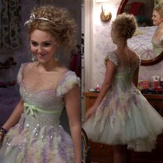 """Eighties prom dress from """"The Carrie Diaries"""""""