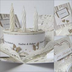 Papierwunder: Die etwas andere Hochzeitskarte