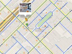 Interior de edifícios públicos disponíveis no Google Maps