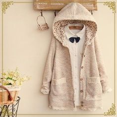 Buy 'Fairyland – Lace Trim Hood Knit Jacket' with Free International Shipping at YesStyle.com. Browse and shop for thousands of Asian fashion items from China and more!