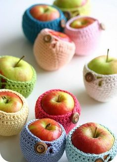 Himm, Apple cozy ~ Just in-case your apples get a little chilly! lol