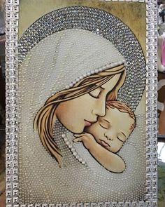 Jesus Loves, Christmas Cards, Instagram Posts, Angeles, Painting, Cross Wallpaper, Xmas Decorations, Religious Pictures, Sagrada Familia