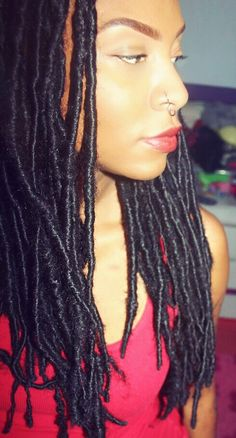 """Love Yourself. Completely. Faux """"fake"""" dreads"""