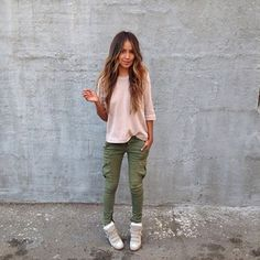 cargo pants | via sincerely jules