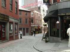 Old Boston can only be described as eerily enchanting.