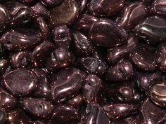 Preciosa® Traditional Czech Glass Pip Beads Jet Vega from Nosek's Just Gems