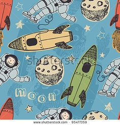Google Image Result for http://image.shutterstock.com/display_pic_with_logo/596467/596467,1329584602,1/stock-vector-rockets-and-astronauts-in-space-pattern-95477359.jpg