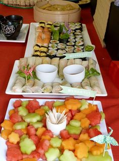 JAPANESE PARTY {the food}: