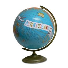 ImagineNations Adventure Globe  by Wendy Gold