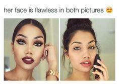holy crap her skin is goals.my goal is to never need makeup and only wear it for fun Makeup 101, Beauty Makeup, Makeup Looks, Eye Makeup, Hair Makeup, Hair Beauty, Makeup Ideas, Ashley Model, Pinterest Makeup