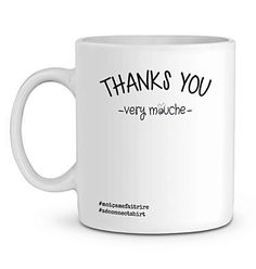 Mug En Céramique - Thanks You Very Mouche - Zé Connect Shirt