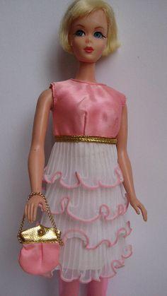 Hair Fair Barbie in Pink Premiere (1969) by wonderbarbie, via Flickr