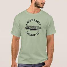 Great Lakes Airship Company T Shirt - vintage gifts retro ideas cyo