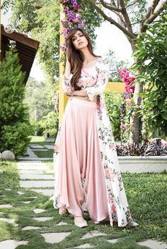 Buy Designer Collection Online : Call/ WhatsApp us on : The post Beautiful Designer Baby Pink Color Printed Patiyala Fancy Jacket Dress-Bridal Lehenga Store appeared first on Aktuelle. Pakistani Dresses, Indian Dresses, Indian Outfits, Indian Attire, Designer Bridal Lehenga, Bridal Lehenga Choli, Floral Lehenga, Saree, Indian Designer Outfits