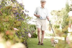 Retirement Lifestyle ( walking your dog)