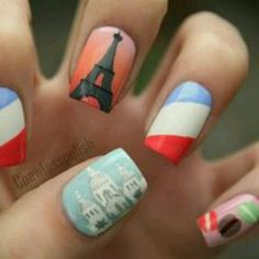 Giving new meaning to a french manicure!
