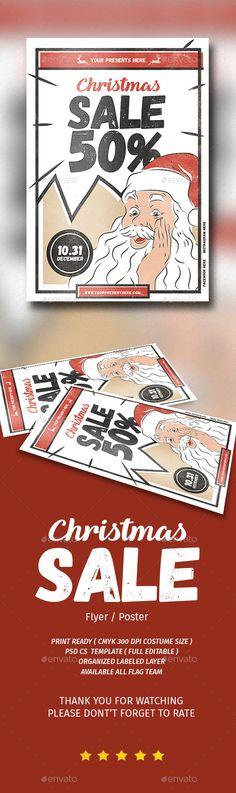 Winter Sale Flyer Ai illustrator, Flyer template and Template - for rent flyer template