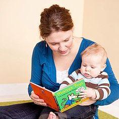 Activities to Boost Cognitive Development: 3-6 Months: Read to Him (via Parents.com)