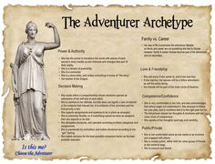 The Adventurer Archetype Writing Advice, Writing Resources, Writing Help, Writing Prompts, Story Inspiration, Writing Inspiration, Character Inspiration, Brand Archetypes, Writing Characters