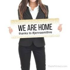 Sold by Sign - Real Estate Testimonial Prop - - different design on each side - thick White PVC Hard Plastic - FREE UPS shipping Real Estate Signs, Sell Your House Fast, Instagram Handle, Social Media Channels, Home Ownership, Real Estate Investing, Order Prints, Home Buying, Online Marketing