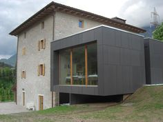 Roofing panel and sheet in fibre cement SWISSPEARL® by SWISSPEARL Italia