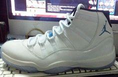 "Air Jordan 11 Retro ""Legend Blue"" aka ""Columbia"" (Preview Pictures)"