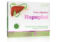 Hepaplus Articsóka kapszula, Máj & Epe és emésztés. Extra, 17,5 mg cinarin hatóanyag kapszulánként.