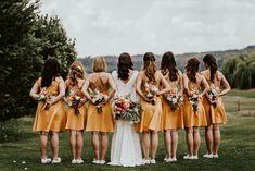 Flowers for Bridesmaids  made by Las Floristas