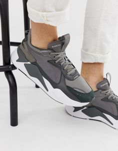 Shop Puma RS-X Trophy sneakers in gray at ASOS. 08bf5c5fd