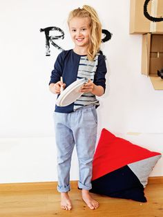 burda girls lounge pants pattern
