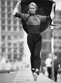 visual optimism; fashion editorials, shows, campaigns & more!: the comfort zone: vika falileeva by benjamin kanarek for elle vietnam november 2014