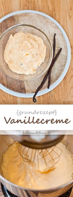 Vanillecreme {konditorcreme Vanilla cream {confectioner cream} Related Post LOW CARB ITALIAN CREAM CAKE This easy Tiramisu Ice Cream, is one of the most p. Pudding Desserts, No Bake Desserts, Best Cake Recipes, Sweet Recipes, Cake Cookies, Cupcake Cakes, Sweet Like Chocolate, Dessert Oreo, Sweet Bakery