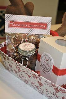 Reindeer Christmas Gift Box #xmas_present #xmas_gifts